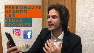 PERSONAJES USANDO LAS REDES SOCIALES   Joaquin Castellano