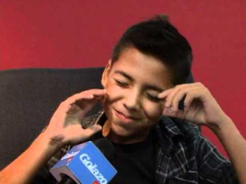 El niño que besó a Larissa Riquelme