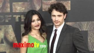 Freida Pinto and James Franco at