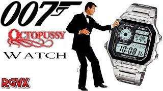 The Casio Octopussy James Bond 007 Watch Review ( Casio AE-1200WHD )