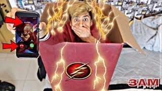DO NOT MAIL YOUR SELF IN A BOX TO THE FLASH AT 3AM!! *OMG I GOT SUPER POWERS*