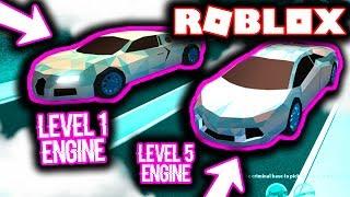 LEVEL 1 BUGATTI VS LEVEL 5 LAMBORGHINI IN ROBLOX JAILBREAK! (RACE)
