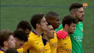 [HIGHLIGHTS] FUTBOL (2AB): Prat - FC Barcelona B (0-0)