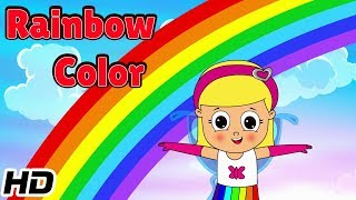 Rainbow Colors Song | Learn Colors Song with Children | Shemaroo Kids