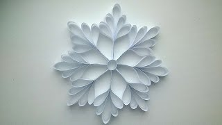 How To Make A Paper Snowflake - DIY Crafts Tutorial - Guidecentral