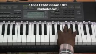 Kaththi Movie Theme Music (Main BGM) - Piano Tutorials