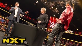 Shinsuke Nakamura and Bobby Roode sign their TakeOver contract: WWE NXT, Jan. 18, 2017