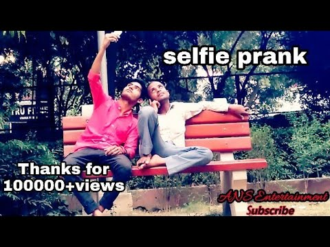 'Sefie' prank in INDIA gone wrong @@@@@ By ANS Entertainment //FUNNY//