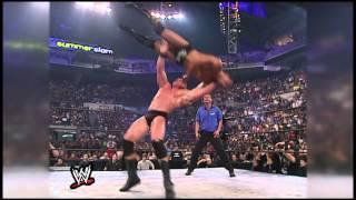 Brock Lesnar's path of destruction