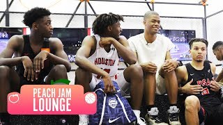 Nothing is OFF LIMITS! Zaire Wade, Cassius Stanley, Cole Anthony & Tyrese Maxey Chop It Up 🔥