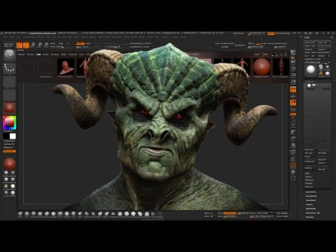 Zbrush film tv reel vidoemo emotional video unity for Mirror zbrush