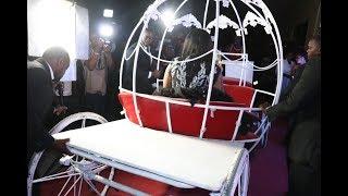 VIDEO: Wolper Atua Kama Malikia Kwenye Birthday Party Yake