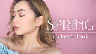 Spring Makeup Look : Kaity Nguyen