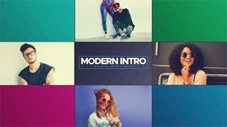 Modern Intro ( After Effects Project Files ) ★ AE Templates ★ 2018