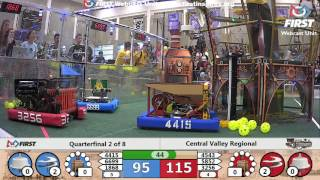 Quarterfinal 2 - 2017 Central Valley Regional
