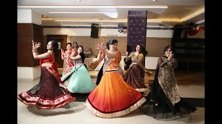 Wedding Dance By Bride Aunties | Indian Sangeet Ceremony