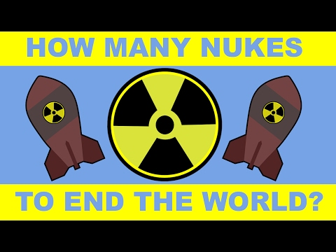 How Many Nukes Would it Take to Eradicate Humanity