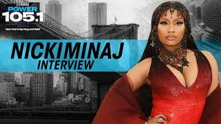 "Nicki Minaj Talks 6ix9ine, ""Barbie Dreams"", and First Time Smoking Weed"