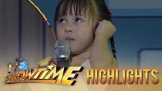 It's Showtime Mini Me 3: Lauren Madelaine Cabuguas | Mini Kim Chiu