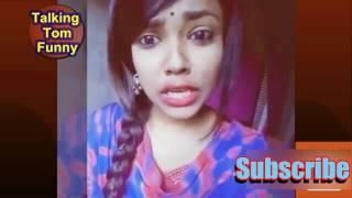 Puran Dhaka vs Barisal Girl new funny video 2017 | Bangla Love Story New 2017 | Talking Tom Funny