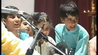 Hutte Hutta a satirical song with 7 children from Jammu camps 2009 15th November