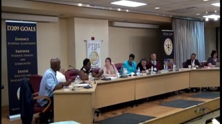Board of Education Meeting - August 8th, 2017