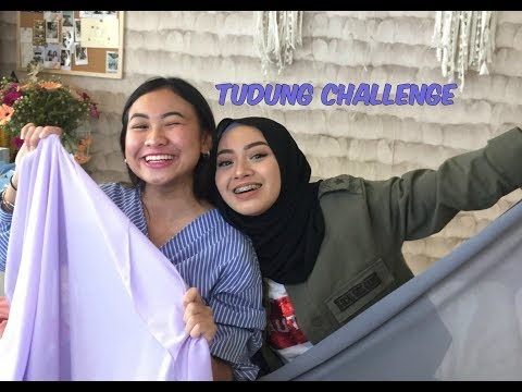 TUDUNG CHALLENGE   MYRA ZAINAL