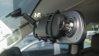 1080p Rear View Mirror Car Camcorder Review