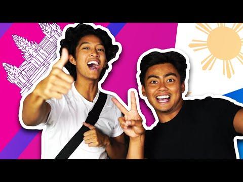 LANGUAGE CHALLENGE! | Filipino VS Cambodian