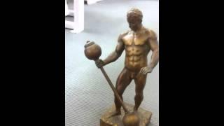 An Original Sandow Trophy