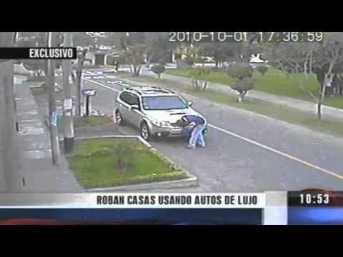 Robos a casa con autos de lujo La Molina Lima