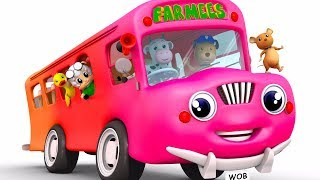 Wheels On The Bus Go Round And Round | Baby Songs | Kids Channel | Songs For Children