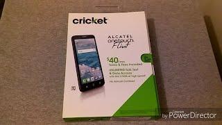 Alcatel One Touch Flint Unboxing (Cricket Wireless)