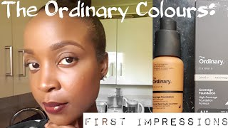 The Ordinary Colours Coverage Foundation: First Impressions + Quick Everyday Makeup Routine