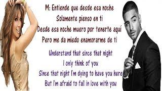 Thalía ft Maluma - Desde Esa Noche Lyrics English and Spanish - Translation & Meaning - Letras