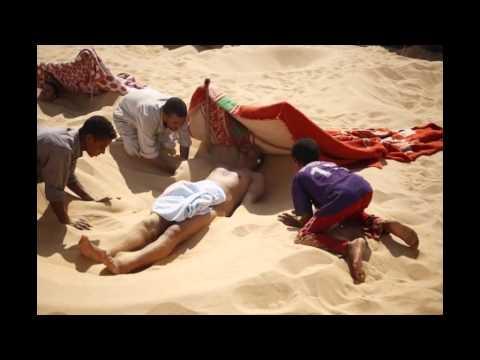 Hot sand baths of Siwa Egypt