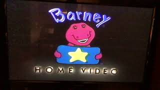 Opening to Barney's Super Singing Circus 2000 VHS