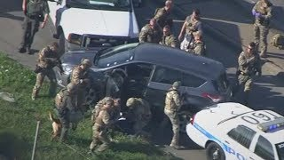pc mobile Download RAW VIDEO: Police chase across Houston in morning rush hour ends in SWAT take down of suspect