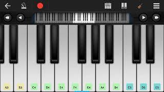 Sorry Dipannita song piano note.
