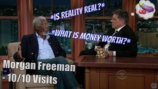 Morgan Freeman - Geoff Does An Impression Of Him FOR Him - 10/10 Visits In Chron. Order