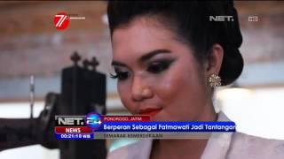 Mengenang Jasa Fatmawati, Komunitas Modeling Adakan Pemotretan Jahit Bendera - NET24