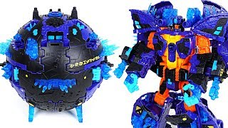 Transformers Mission to Cybertron Converting Planet with Optimus Prime, Bumblebee - DuDuPopTOY