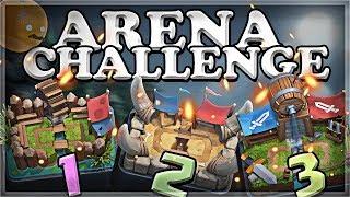 Arena Challenge 1-2-3 | Clash Royale | Part 1 🍊