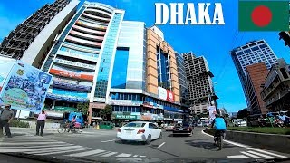 Modern Dhaka City Road View | Gulshan 2 - Gulshan 1 | Raid BD