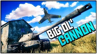THE FREEDOM CANNON (War Thunder Tanks Gameplay)