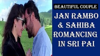 Rambo and Sahiba Romancing In Sri Pai | Naran | Jan Rambo