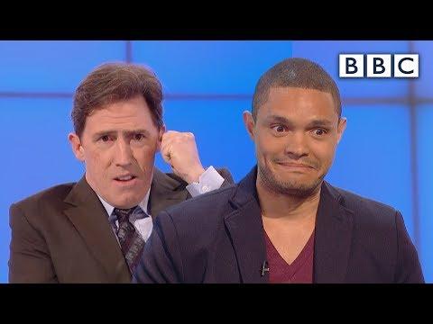 Did Trevor Noah prank call people as Nelson Mandela Would I Lie to You BBC