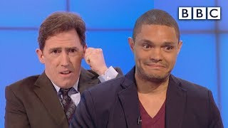 Did Trevor Noah prank call as Nelson Mandela? - Would I Lie to You?: Series 9 Episode 6 - BBC One
