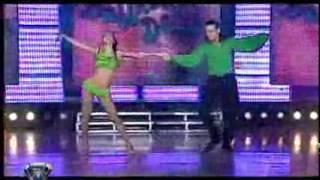 Showmatch 2007 - Cinthia bailó lesionada