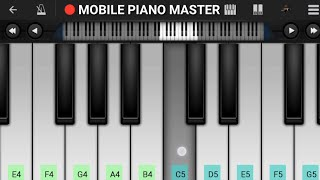 Haal-E-Dil Mera Puchho Na Sanam Piano Tutorial    Sanam Teri Kasam    - Mobile Piano Tutorial